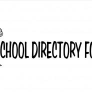 School Directory Form