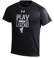 "Youth – Under Armor ""Play Like a Legend"" Tee (Black or Gray)"