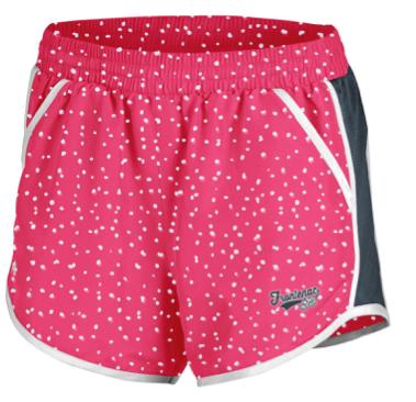 Youth Girls – Pink Polka Dot Shorts